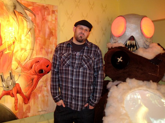 Alex Pardee and Theodore RoseFelt, San Francisco 2009