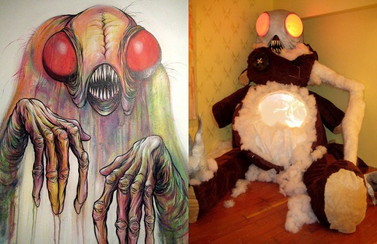 Theodore RoseFelt by Alex Pardee, 2009