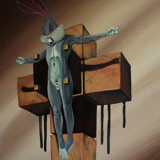 Bugs Bunny Crucifixion © @bowenstuff (Robert Bowen)