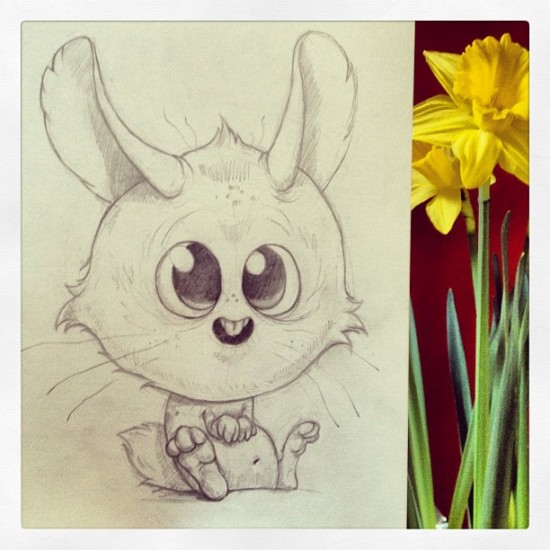 Easter scribbles © @chrisryniak