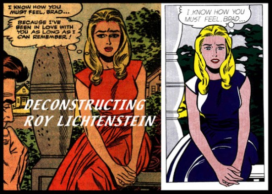 Deconstructing Lichtenstein