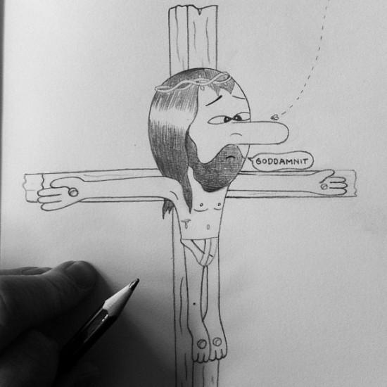 """Crucaffliction"" © @huskmitnavn1"