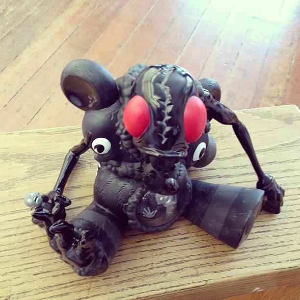 Alex Pardee x Kidrobot Black DigesTED