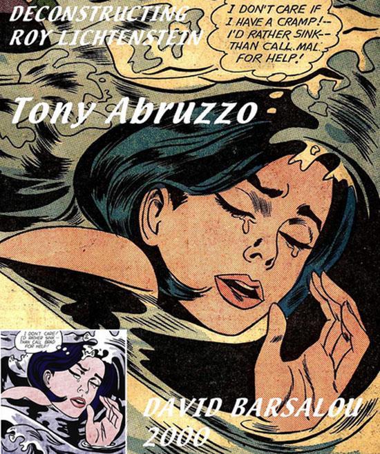 Roy Lichtenstein's Drowning Girl