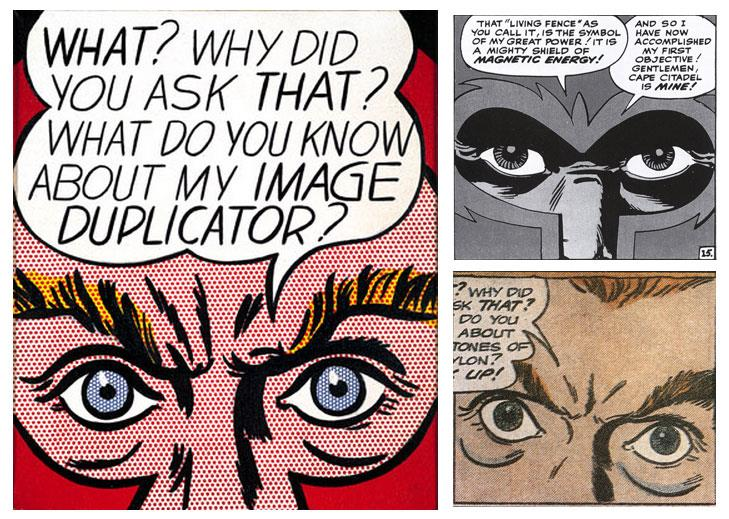 Lichtenstein Comic Art