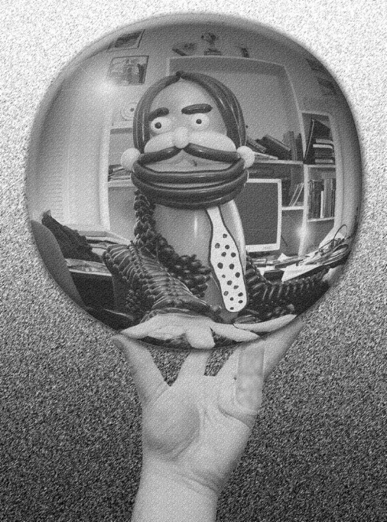 MC Escher in balloons