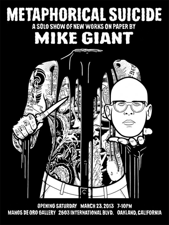 Metaphorical Suicide by Mike Giant