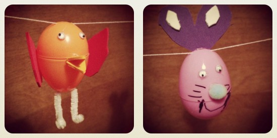 Easter 2013 Chick and Bunny © @travislampe