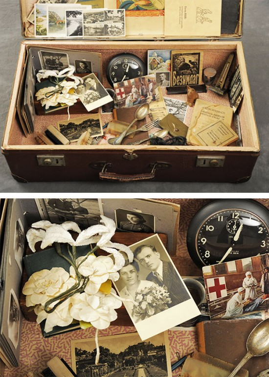 Dmytre's suitcase photo © John Crispin