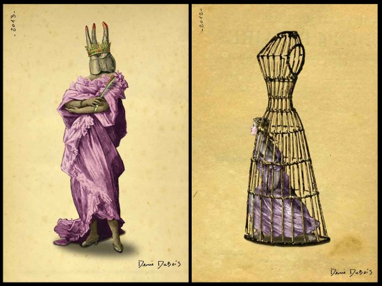 &quot;Crown&quot; and &quot;Prisoner of Fashion&quot;  Denis Dubois