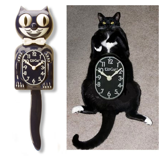 The original Kit-Cat Clock!