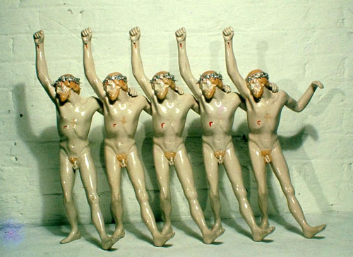 Christ Unlimited by Herman Makkink in A Clockwork Orange