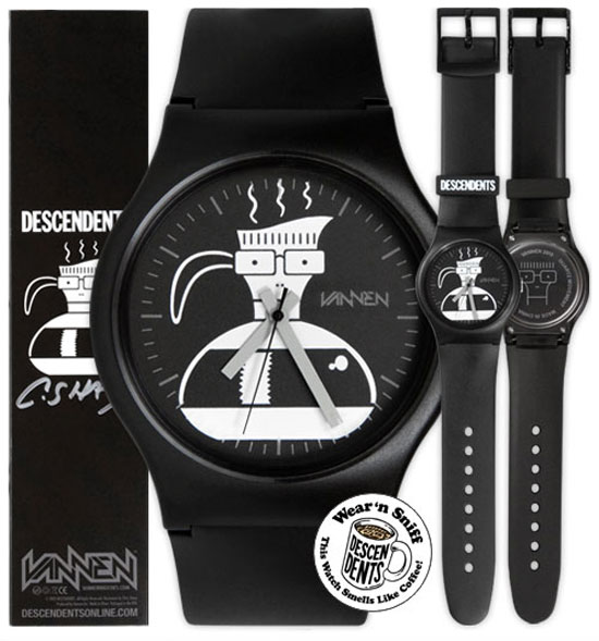 Vannen x Coachella Descendents watches