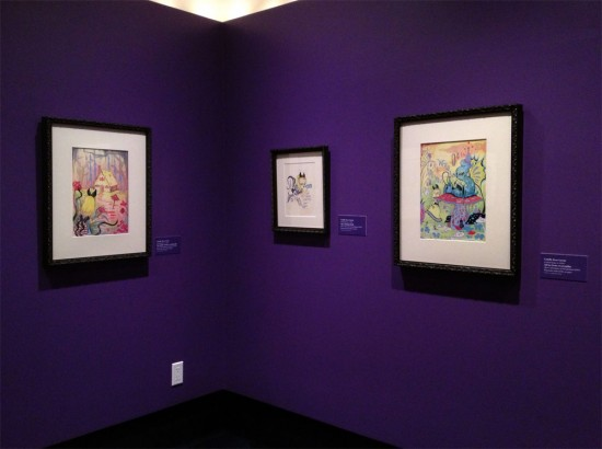 Camille Rose Garcia at the Walt Disney Family Museum