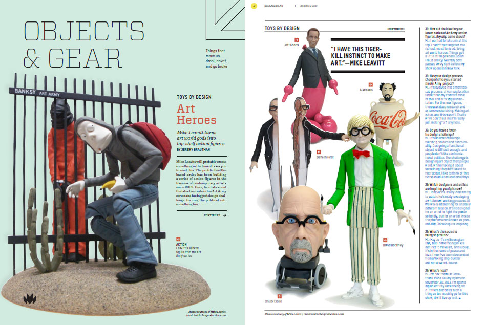 Design Bureau magazine issue 19: Toys by Design Mike Leavitt