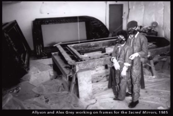 Framing the Sacred Mirrors in 1985