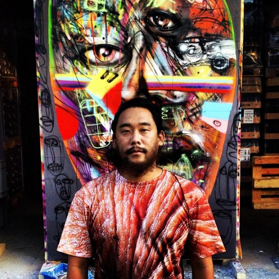 David Choe x Fin Bec wine
