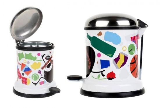 Darcel x Vipp designer trash cans