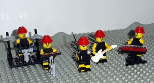 Lego DEVO by Sam Menner of Australia