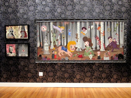 Gary Baseman's The Door is Always Open at the Skirball