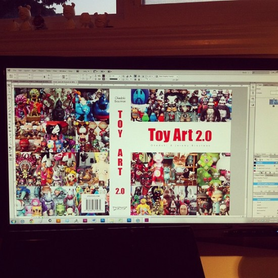 Toy Art 2.0 book by Okedoki and Jeremy Brautman