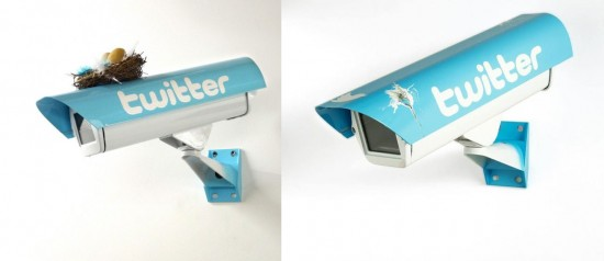 Social Security Cameras by Fidia Falaschetti