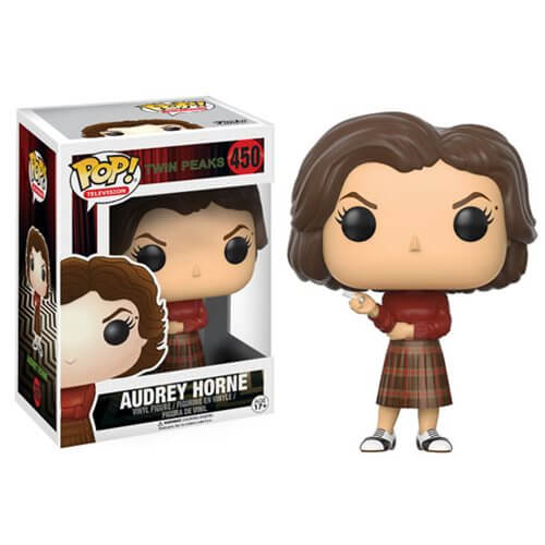Twin Peaks toys x Funko Pop! Audrey Horne vinyl toy