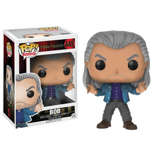 Twin Peaks toys x Funko Pop! Bob vinyl toy