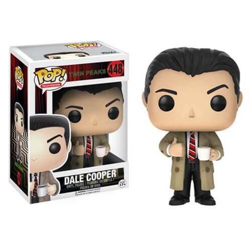 Twin Peaks toys x Funko Agent Cooper Pop! toy