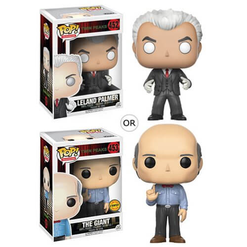 Twin Peaks toys x Funko Pop! Leland and The Giant vinyl toys