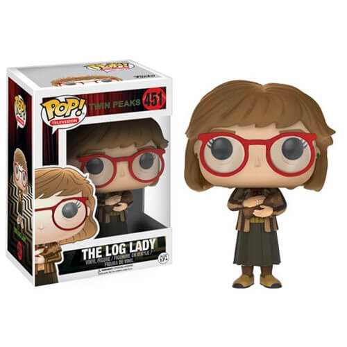 Twin Peaks toys x Funko Pop! The Log Lady vinyl toy
