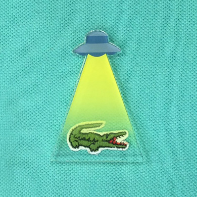 Japanese UFO pin brooch