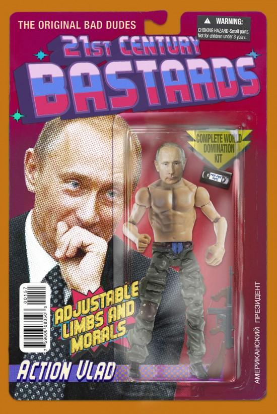 Vladimir Putin action figure by Chris Barker