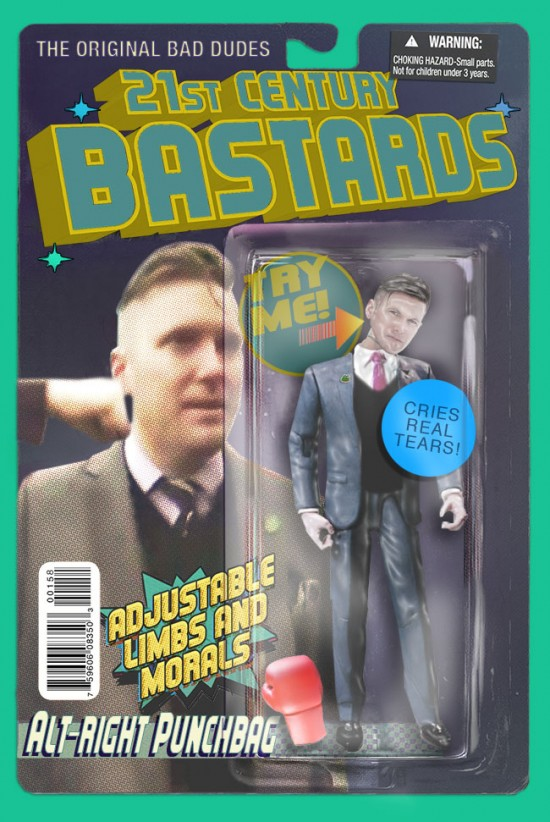 Richard Spencer action figure by Chris Barker