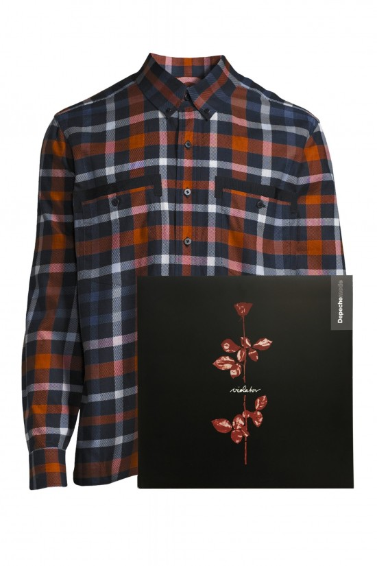JCRT plaid Depeche Mode Violator