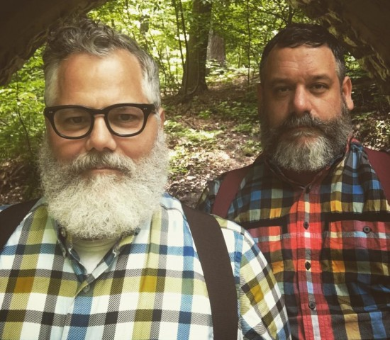 JCRT plaids: Jeffrey Costello and Robert Tagliapietra