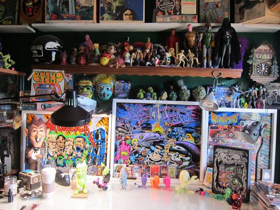 Dirty Donny studio visit