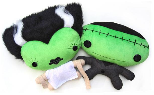 Cuddly Rigor Mortis: Frankies!