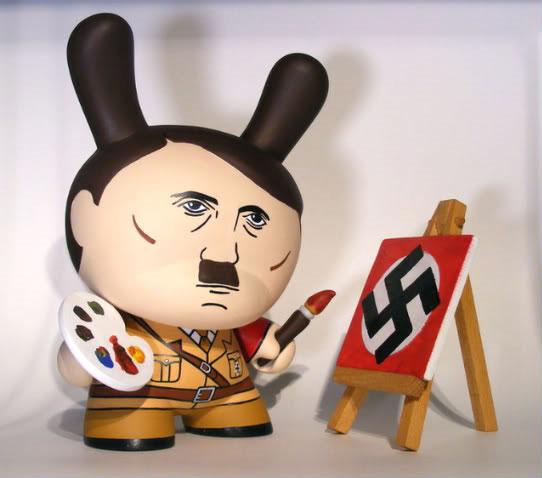 Custom Hitler Dunny by Okedoki