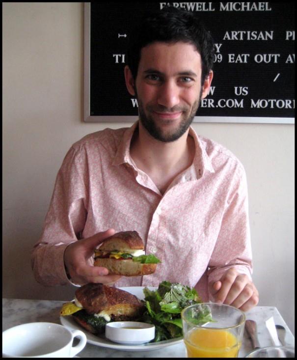 Jon Burgerman in Brooklyn