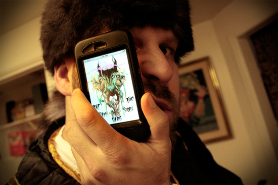 Alex Pardee and iPhone App