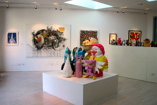 """Hello Bro"" Toy Art Show in Milan"