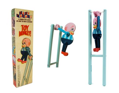 Gary Taxali's retro wood toys