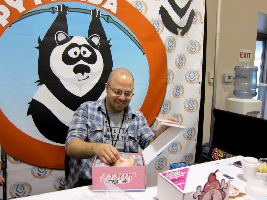 Yosiell Lorenzo at Happy Panda Toys
