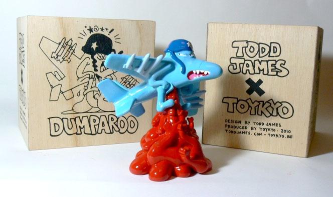 Todd James Dumparoo resin art toy