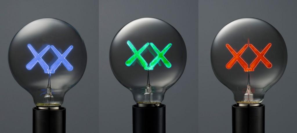 KAWS x The Standard Lightbulbs