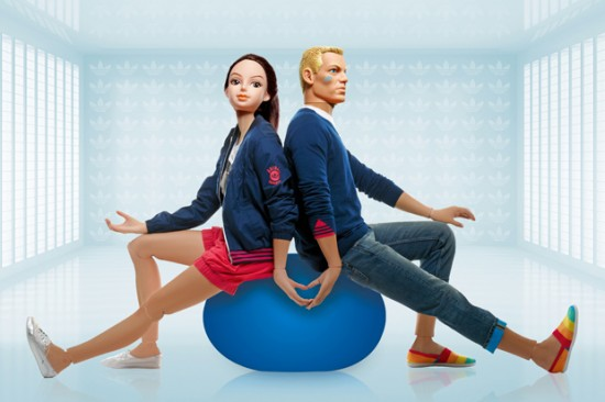 Adidas x Action Figures Fashion Campaign