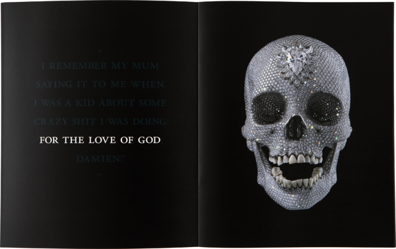 Damien Hirst For the Love of God Book