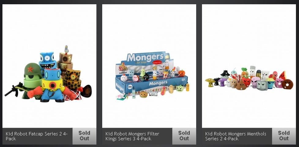 Kidrobot x Jackthreads toys