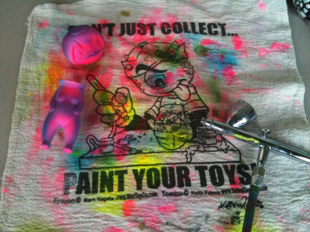 Toy Painting Rags by Bebop Designs